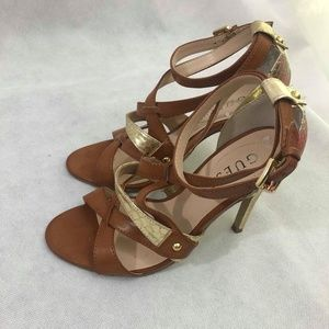 Guess Strappy High Heel Sandals  sz  6M